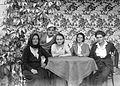 Tableau, women, men Fortepan 1384.jpg