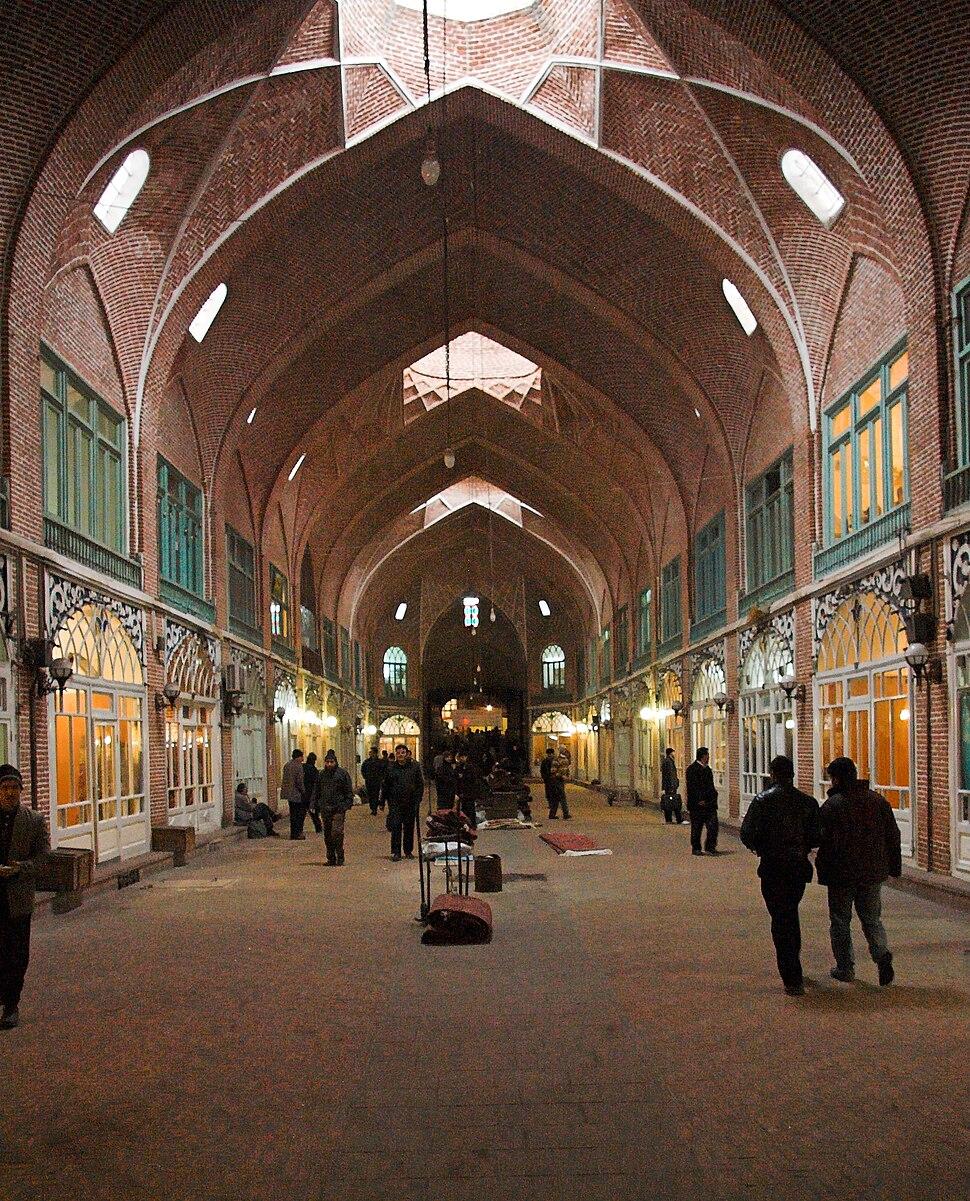 Tabriz bazaar 012008