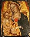Taddeo di bartolo, madonna col bambino, fine del XIV secolo, 02.jpg