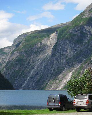 Tafjord rockslide
