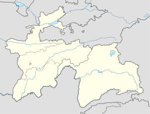 Khorugh is located in Tajikistan