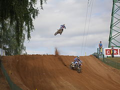 Tanel Leok and Antonio Cairoli in Kegums 2009.jpg