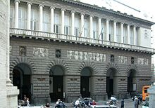 The Theatre of San Carlo was built during the reign of Charles I of Bourbon