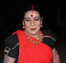 Teejan Bai after performnce at Bharat Bhawan Bhopal.jpg