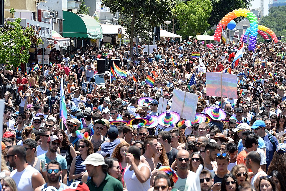 The legal code in Israel that once outlawed homosexuality was changed on March 22