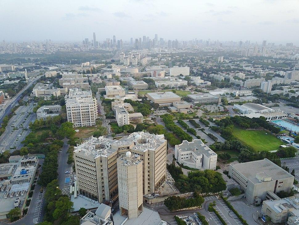 Tel Aviv University from Air