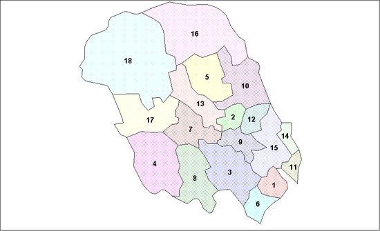 Telemark Municipalities