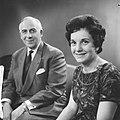 Televisieopname van Anneke Beekman en Louis Frequin, Bestanddeelnr 913-2483.jpg