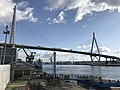 Tempozan Bridge and Sakurajima Ferry Terminal 2.jpg