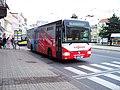Teplice, Benešovo náměstí, autobus 616, Crossway, Arriva Teplice.jpg