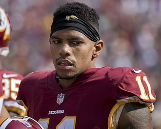 Terrelle Pryor - Pryor with the Washington Redskins in 2017