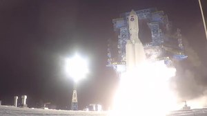 Файл:Test launch of the Angara-A5 from the Plesetsk cosmodrome (2020-12-14).webm