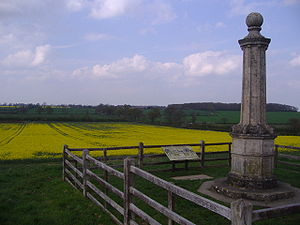 Battle of Naseby - Image: The Battle Field at Naseby 20,04,2007