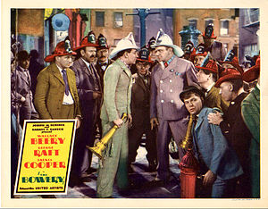 The Bowery (film) - Lobby card with Raft and Beery