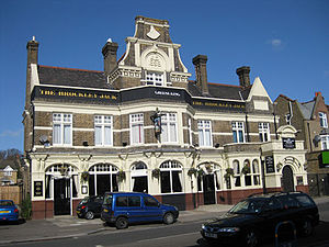 Crofton Park - The Brockley Jack pub, Crofton Park (built in 1898)