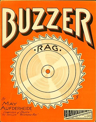May Aufderheide - Image: The Buzzer Rag