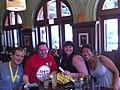 The ChicagoNow gang at the post-half-marathon tweet-up (4849286745).jpg