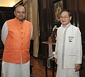 The Chief Minister of Arunachal Pradesh, Shri Nabam Tuki calling on the Union Minister for Finance, Corporate Affairs and Defence, Shri Arun Jaitley, in New Delhi on July 1, 2014.jpg