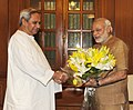 The Chief Minister of Odisha, Shri Naveen Patnaik calling on the Prime Minister, Shri Narendra Modi, in New Delhi on June 02, 2014.jpg