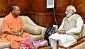 The Chief Minister of Uttar Pradesh, Yogi Adityanath calls on the Prime Minister, Shri Narendra Modi, in New Delhi on March 21, 2017 (1).jpg