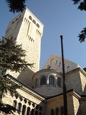 Augusta Victoria Hospital - Ascension Church, Augusta Victoria compound