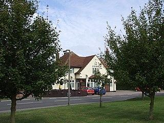Upper Sundon village in the United Kingdom