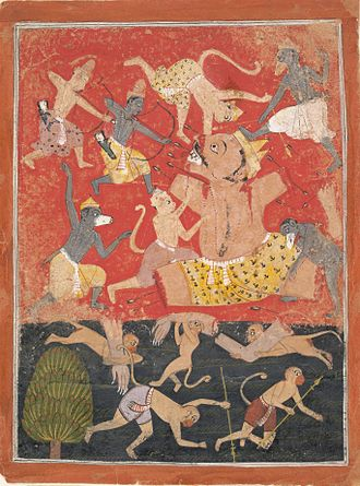 Kumbhakarna - Death of Kumbhakarna