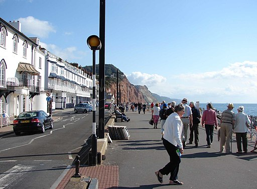 The Esplanade, Sidmouth-geograph-2270867-by-michael-cooper