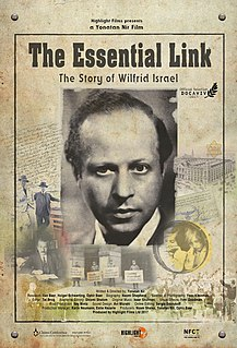 <i>The Essential Link: The Story of Wilfrid Israel</i> film