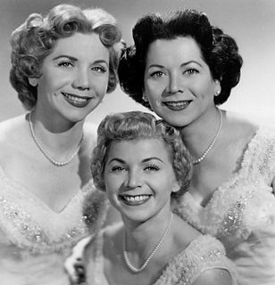 The Fontane Sisters
