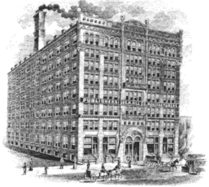 George M. Hill Company - The George M. Hill Company in 1900