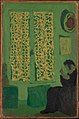 The Green Interior (Figure Seated by a Curtained Window) MET DP345574.jpg