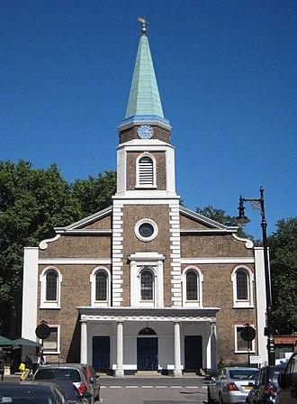 Grosvenor Chapel - Image: The Grosvenor Chapel Mayfair