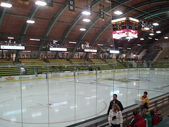 University of Vermont - The Gutterson Fieldhouse, built in 1963, houses UVM's hockey rink.