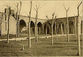 Souk El Gharb - The high school of Suk-el-Gharb, Lebanon, 1914
