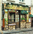 The Poulbot Cafe In Montmartre, Paris April 2014.jpg