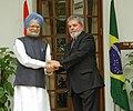 The Prime Minister, Dr Manmohan Singh meeting with the President of Brazil, Mr. Luiz Inacio Lula da Silva, in New Delhi on June 04, 2007.jpg