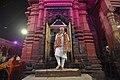 The Prime Minister, Shri Narendra Modi at Durga Mata Temple, in Varanasi, Uttar Pradesh on September 22, 2017.jpg