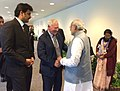 The Prime Minister, Shri Narendra Modi meets the Governor General of Canada, His Excellency the Right Honorable David Johnston, in Singapore on March 29, 2015.jpg