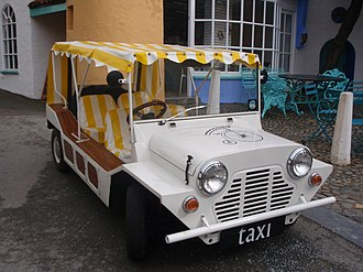 The Village (The Prisoner) - A taxi in the Village