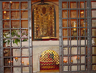 Святи́тель Никола́й, Мирликийский Чудотворец 318px-The_Relics_of_St._Nicholas