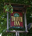 The Sign of Ye Olde Thatch Inn, Broughton - geograph.org.uk - 1415720.jpg