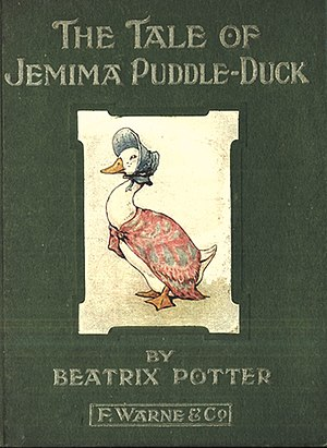 The Tale of Jemima Puddle-Duck - First edition cover