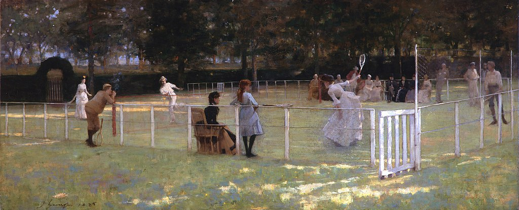File:The Tennis Party, by John Lavery.jpg - Wikimedia Commons