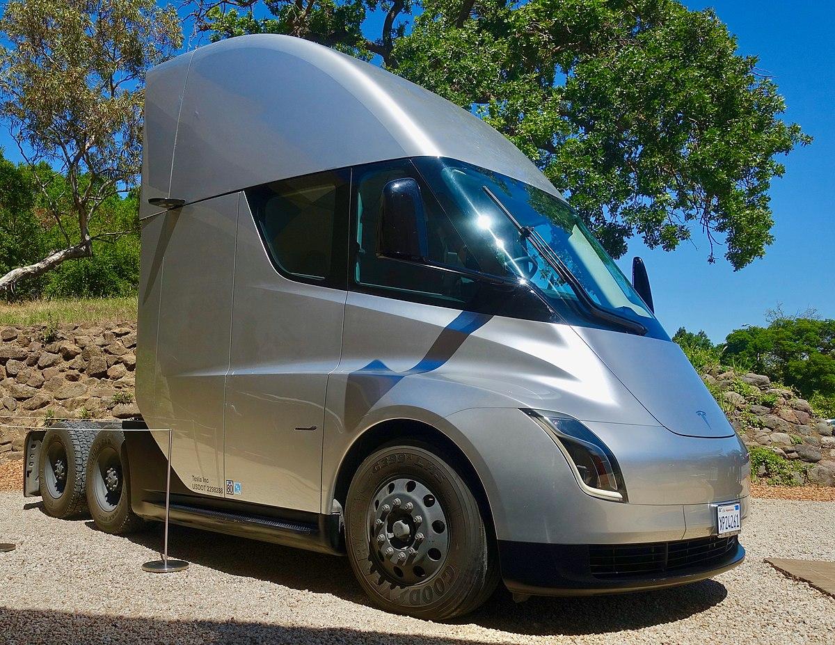 Semi Truck Tires Near Me >> Tesla Semi Wikipedia
