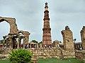 The beauty of Qutub minar.jpg