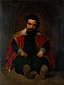 The dwarf Don Sebastián de Morra. Oil painting by M. Pineda Wellcome V0017105.jpg