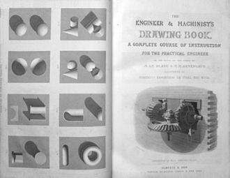 Jacques-Eugène Armengaud - The engineer and machinist's drawing-book, 1860