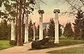 The old Territorial University columns, with Denny Hall in background, University of Washington, Seattle, ca 1914 (MOHAI 4085).jpg