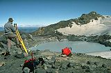 Theodolite measurement on Ruapehu volcano.jpg